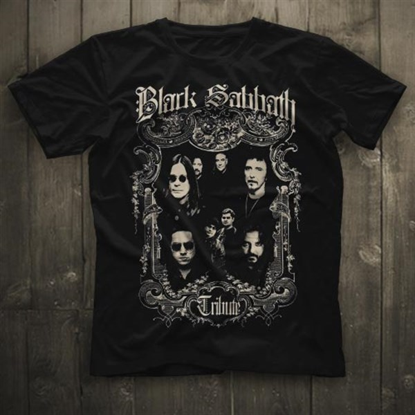 Black Sabbath Tribute Black Unisex  T-Shirt - Tees - Shirts