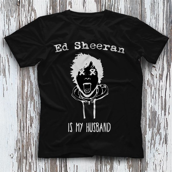 Ed Sheeran Black Unisex  T-Shirt - Tees - Shirts