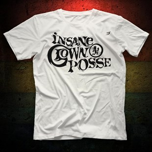 Insane Clown Posse White Unisex  T-Shirt - Tees - Shirts - TisortFabrikasi