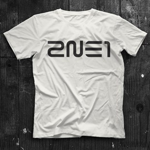 2NE1 K-Pop White Unisex  T-Shirt - Tees - Shirts