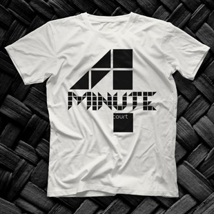 4Minute K-Pop White Unisex  T-Shirt - Tees - Shirts