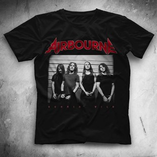 Airbourne Black Unisex  T-Shirt - Tees - Shirts