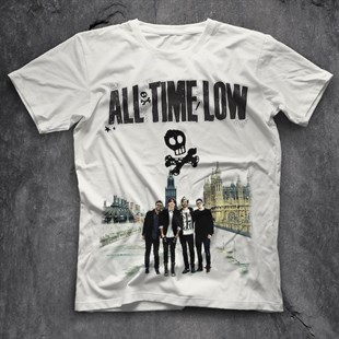 All Time Low White Unisex  T-Shirt - Tees - Shirts