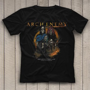 Arch Enemy Black Unisex  T-Shirt - Tees - Shirts
