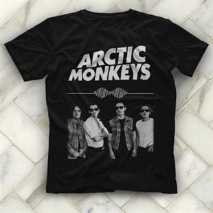 Arctic Monkeys Black Unisex  T-Shirt - Tees - Shirts