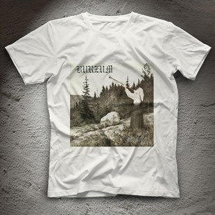 Bathory White Unisex  T-Shirt - Tees - Shirts