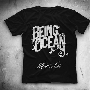 Being as an Ocean Siyah Unisex Tişört T-Shirt - TişörtFabrikası