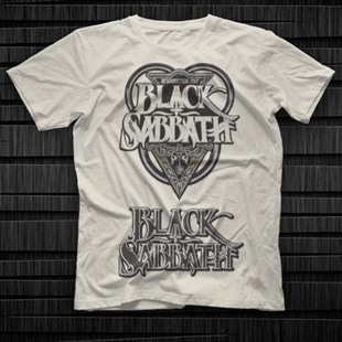 Black Sabbath White Unisex  T-Shirt - Tees - Shirts