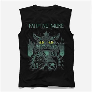 Faith No More Kolsuz Tişört, Kesik Kol T-Shirt KRCA1897