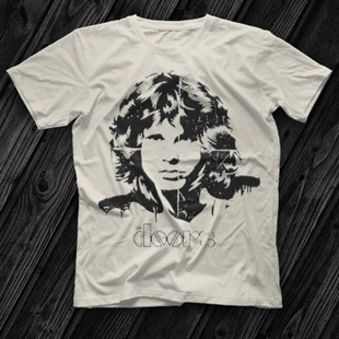 The Doors White Unisex  T-Shirt - Tees - Shirts