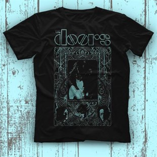 The Doors Black Unisex  T-Shirt - Tees - Shirts