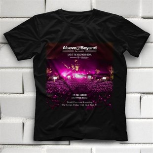 Above and Beyond Black Unisex  T-Shirt