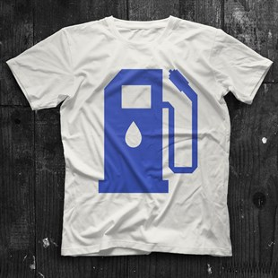 Liquid Fuel White Unisex  T-Shirt