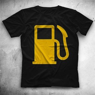 Liquid Fuel Black Unisex  T-Shirt