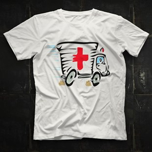 Ambulance Driver White Unisex  T-Shirt