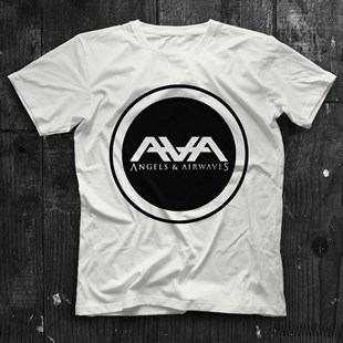 Angels and Airwaves Beyaz Unisex Tişört T-Shirt - TişörtFabrikası