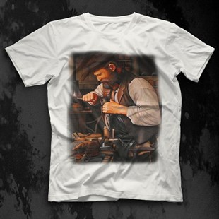 Shoemaker White Unisex  T-Shirt
