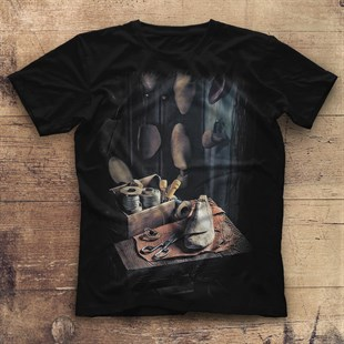 Shoemaker Black Unisex  T-Shirt