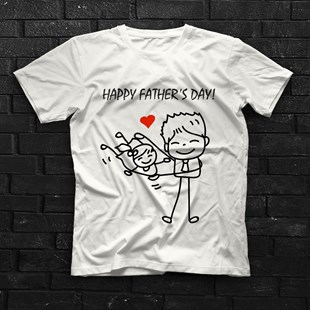 Fathers Day White Unisex  T-Shirt