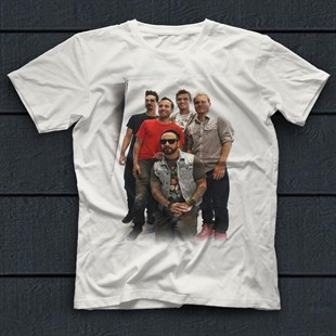 Backstreet Boys White Unisex  T-Shirt - Tees - Shirts