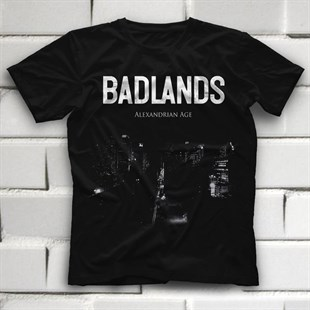 Badlands Black Unisex  T-Shirt - Tees - Shirts - TisortFabrikasi