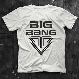 Big Bang K-Pop White Unisex  T-Shirt - Tees - Shirts