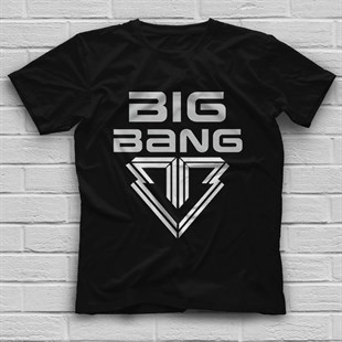 Big Bang K-Pop Black Unisex  T-Shirt - Tees - Shirts