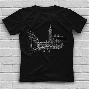 Big Ben Black Unisex  T-Shirt