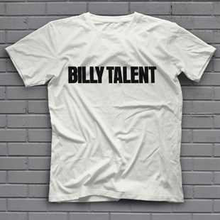 Billy Talent White Unisex  T-Shirt - Tees - Shirts - TisortFabrikasi