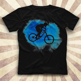 Bicycle Black Unisex  T-Shirt