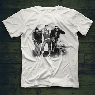 Black Eyed Peas White Unisex  T-Shirt - Tees