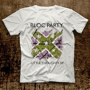 Bloc Party White Unisex  T-Shirt - Tees - Shirts