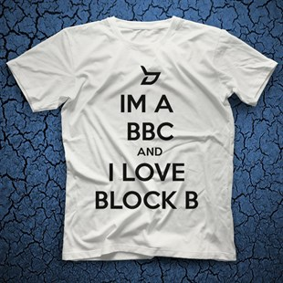 Block B K-Pop White Unisex  T-Shirt - Tees - Shirts