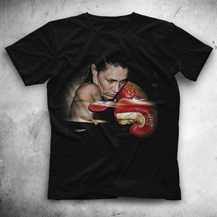 Boxing Black Unisex  T-Shirt