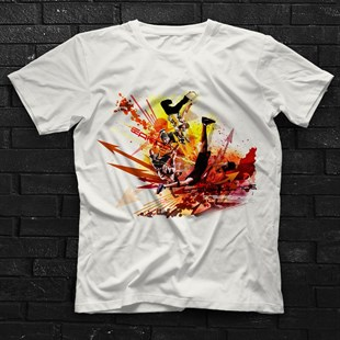 Breakdance White Unisex T-Shirt