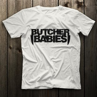 Butcher Babies White Unisex  T-Shirt - Tees - Shirts