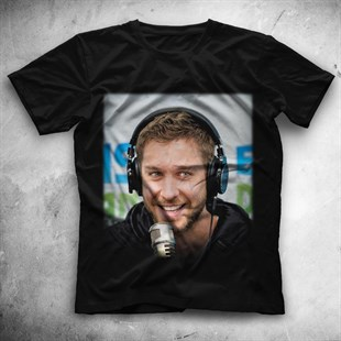 Calvin Harris Black Unisex  T-Shirt