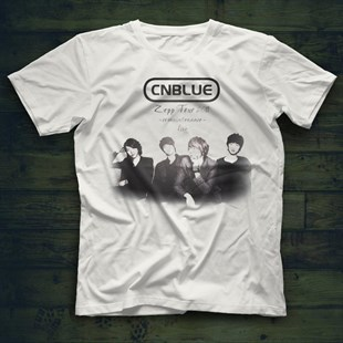 CN Blue K-Pop White Unisex  T-Shirt - Tees - Shirts