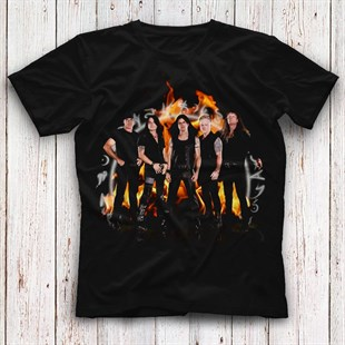 Crimson Glory Black Unisex  T-Shirt - Tees - Shirts - TisortFabrikasi