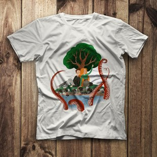 Sea Creature White Unisex  T-Shirt