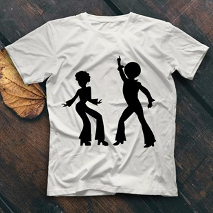 Disco White Unisex T-Shirt