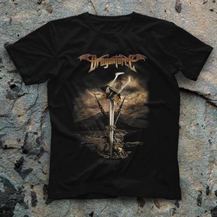 DragonForce Black Unisex  T-Shirt - Tees - Shirts
