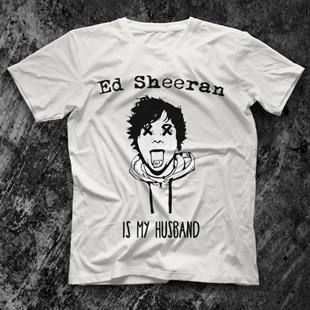 Ed Sheeran White Unisex  T-Shirt - Tees - Shirts