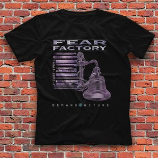 Fear Factory Black Unisex  T-Shirt - Tees - Shirts