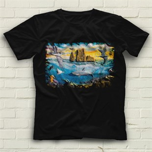 Galapagos Islands Black Unisex  T-Shirt