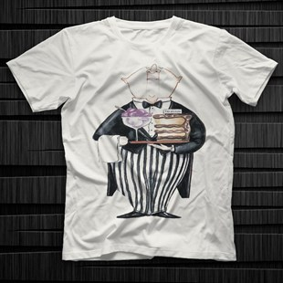Waiter White Unisex  T-Shirt