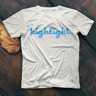 Highlight K-Pop White Unisex  T-Shirt - Tees - Shirts - TisortFabrikasi