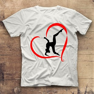 Gymnast White Unisex  T-Shirt
