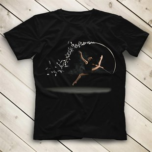 Gymnast Black Unisex  T-Shirt