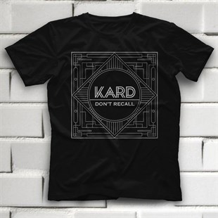 KARD K-Pop Black Unisex  T-Shirt - Tees - Shirts - TisortFabrikasi